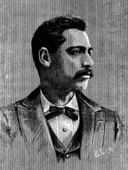 Harry Shepherd, 1900. Photo from The Appeal, February 3, 1900.