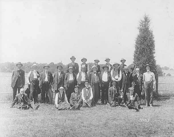 Survivors of the First Minnesota at Gettysburg