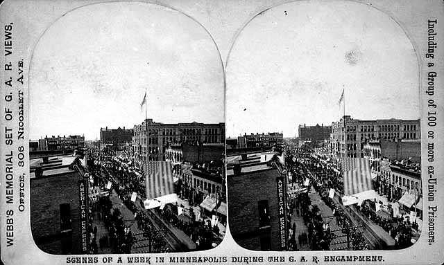 National encampment of the Grand Army of the Republic, Minneapolis.