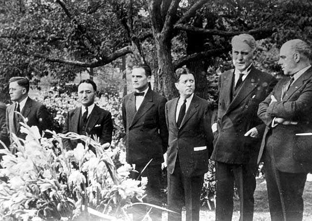 Floyd B. Olson's funeral.