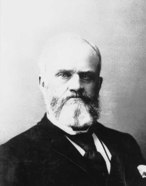 Black and white photograph of Thomas J. Galbraith, c.1885.