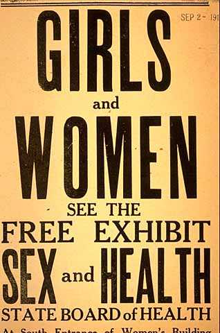 Poster from the State Board of Health