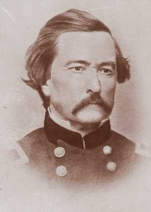 Black and white photograph of Willis A. Gorman, c.1861.