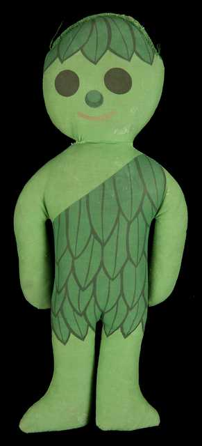 Green Giant doll