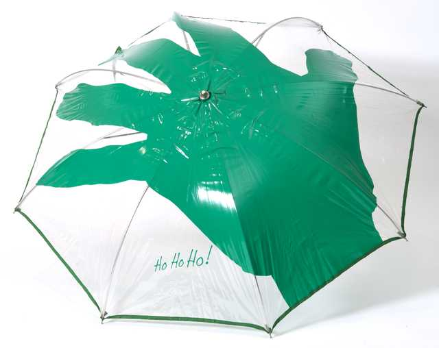 Green Giant promotional umbrella