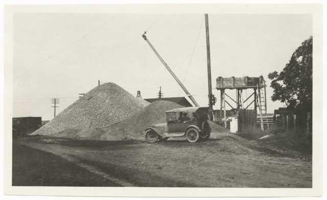 Construction of Jefferson Highway