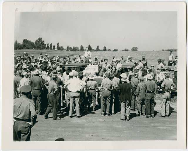Strike at Dunning Field in St. Paul