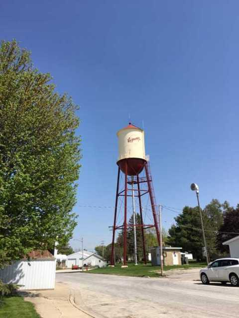 Photograph of Harmony Water Tower