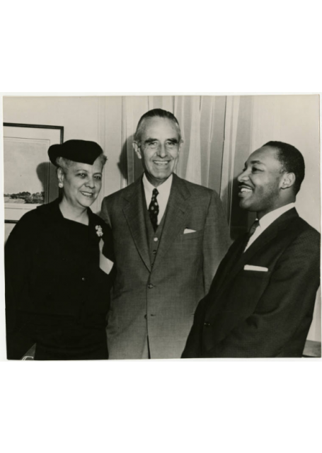Anna Arnold Hedgeman, Martin Luther King, Jr. and Averell Harriman, 1960s.