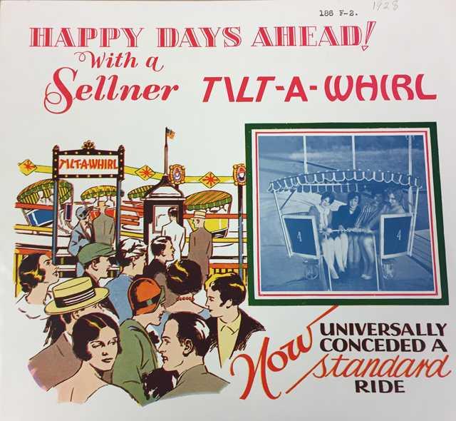 Tilt-A-Whirl advertising brochure