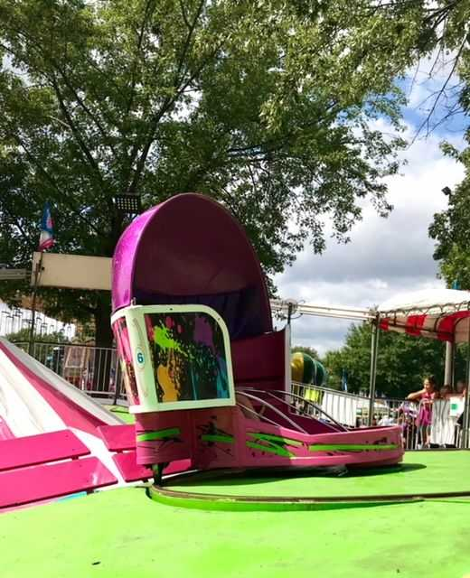 Tilt-A-Whirl in the Kidway