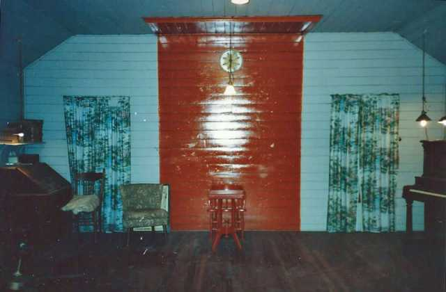 Color image of the Fisher IOOF main hall, interior.