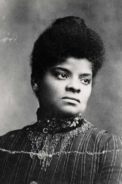 Black and white photograph of Ida B. Wells-Barnett, undated.