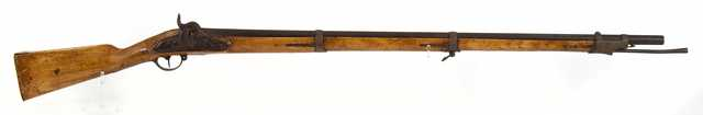 image of a Prussian Model 1809 percussion musket used by the Ninth Infantry