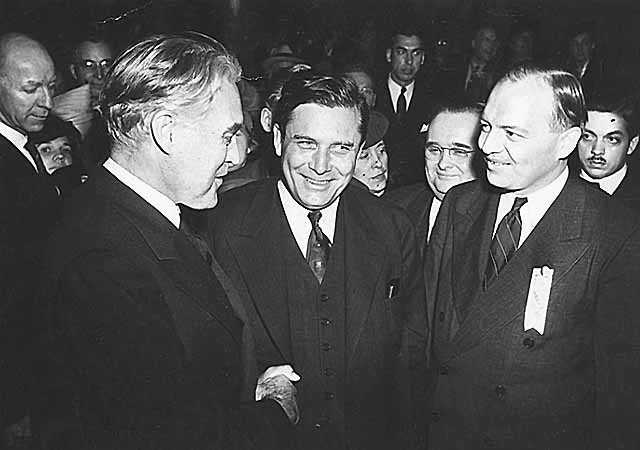 Henrik Shipstead, Wendell Willkie, and Harold Stassen
