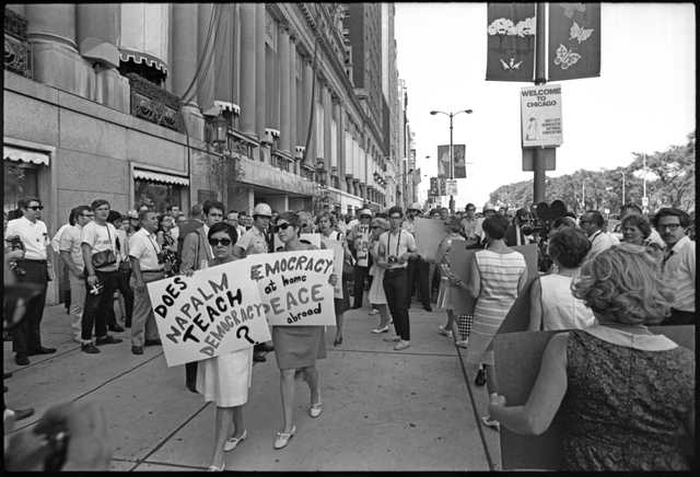 Demonstration at the 1968 Democratic National Convention