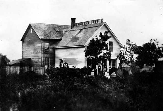 Office and home of Jane Swisshelm, St. Cloud.