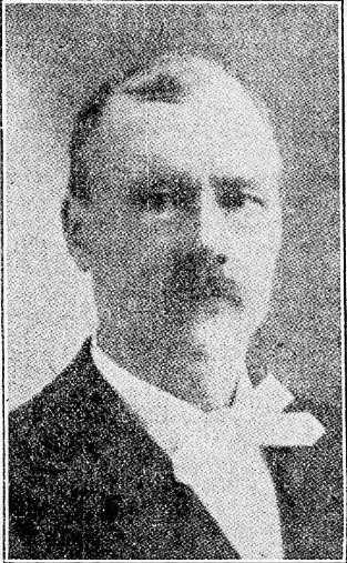 Black and white photograph of Knud J. Taralseth, 1915. Originally published in Warren Sheaf, September 1, 1915.