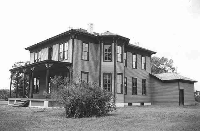 Oliver Kelley house, restored