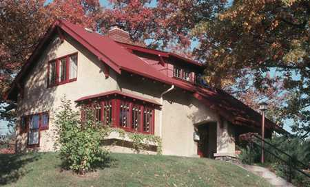 Color image of the Fournier House, c.1995.