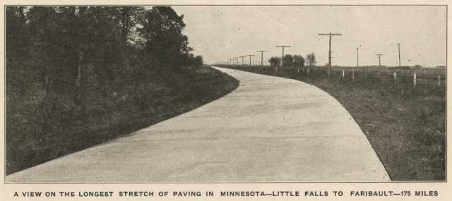 Section of the Jefferson Highway in Little Falls