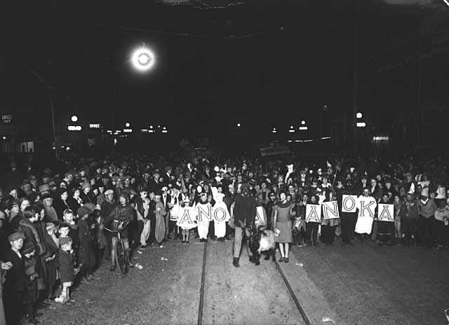 Anoka Halloween Celebration, ca. 1925