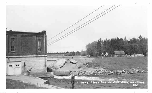 Norway Brook Dam at Pine River