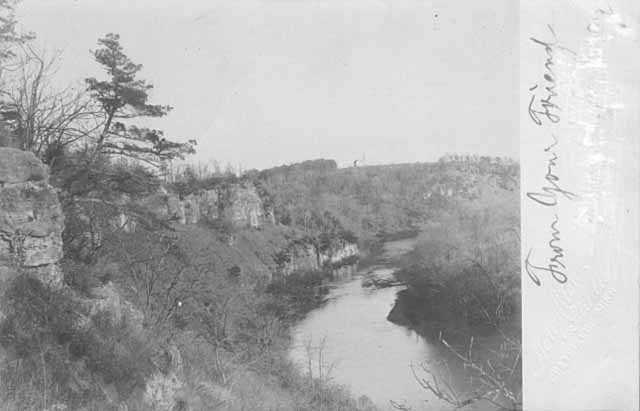 Photograph of Lynch Creek, Chatfield, MN
