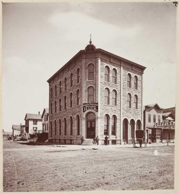Northwestern National Bank, ca. 1875