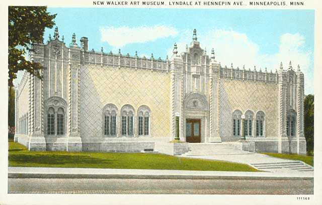 "The ""new"" (1927) Walker Art Museum"