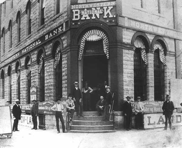 Northwestern National Bank, 1890
