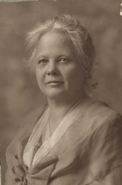 Portrait of Nanny Mattson Jaeger