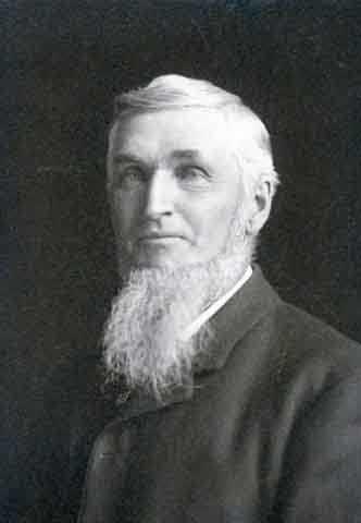 Black and white photograph of Oren C. Gregg, c.1905.