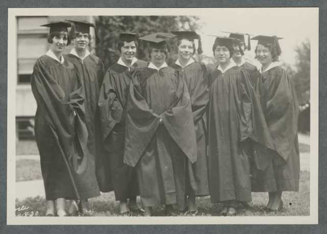 Graduates of Oregon State Agricultural College