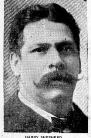Harry Shepherd, 1906. Photo from the Appeal, August 18, 1906.