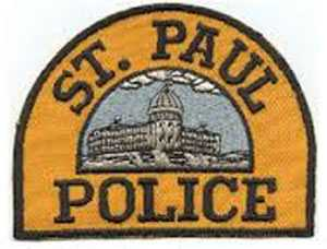 Scan of St. Paul Police patch