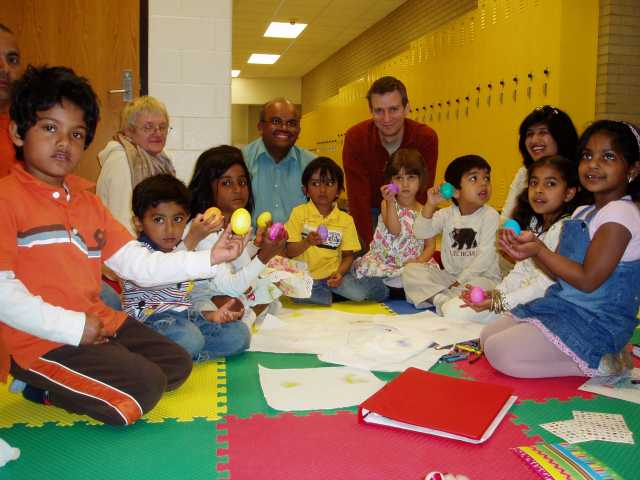 SILC preschool students