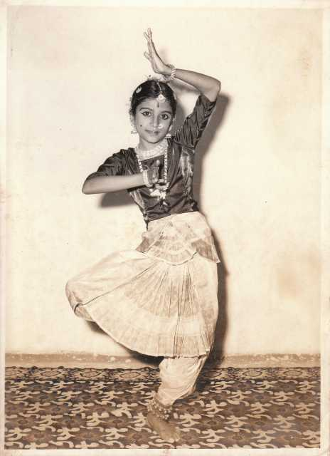 Ranee Ramaswamy dancing as a child
