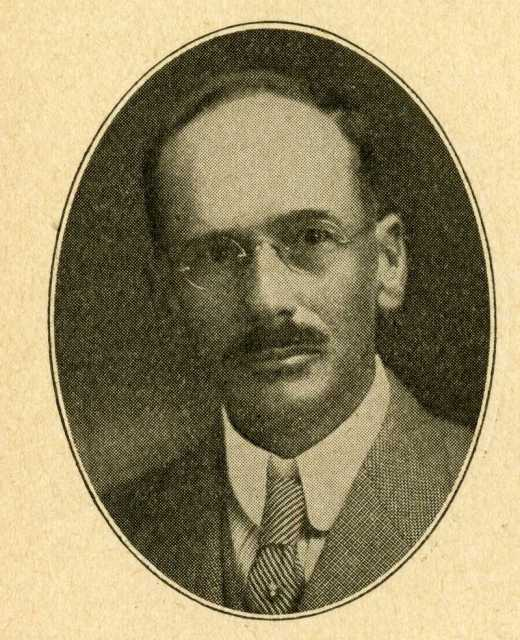 Representative Charles H. Warner, 1919. From the Forty-First Minnesota Legislative Session Manual.