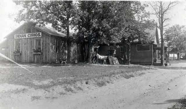 Mille Lacs Indian Trading Post, 1915