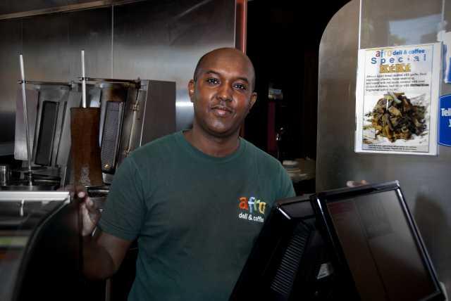 Photograph of Abdirahman Issa Kahin