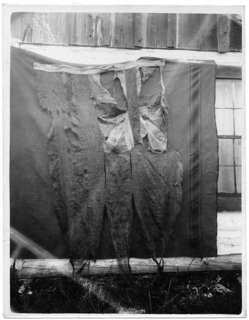 British flag that flew at Grand Portage