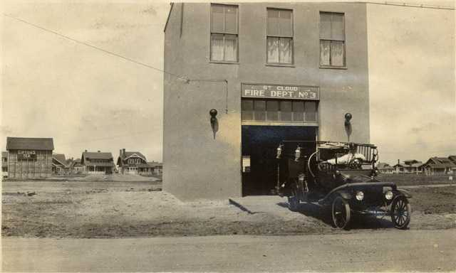 Fire Department, No. 3 Station, Pantown, St. Cloud, c.1919