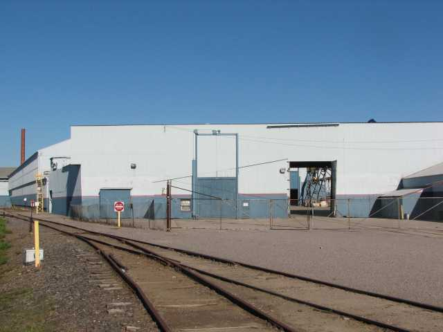 Color image of Cold Spring Granite Company Loading Area, c.2007.