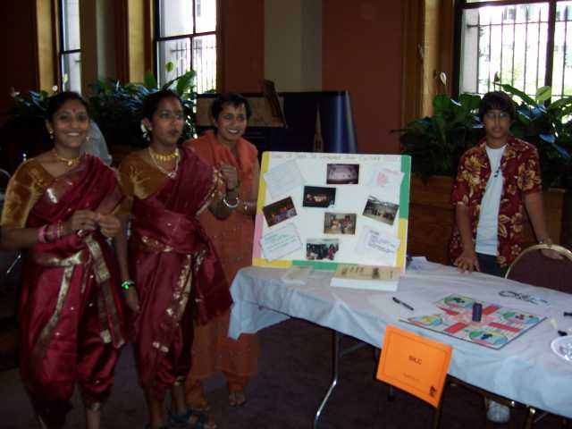 SILC booth at India Day