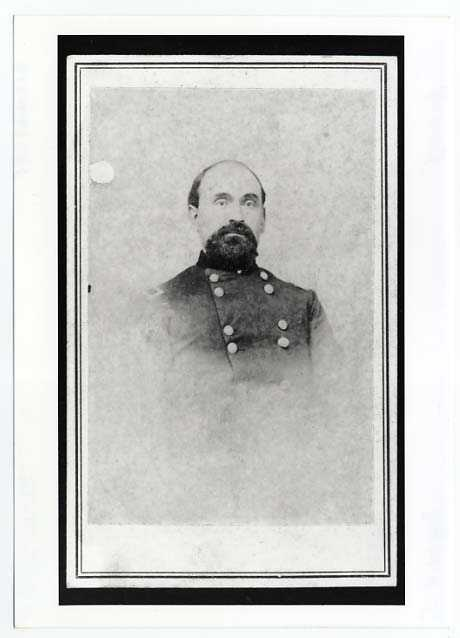 Photograph portrait of John Sanborn in his brigadier general's uniform.