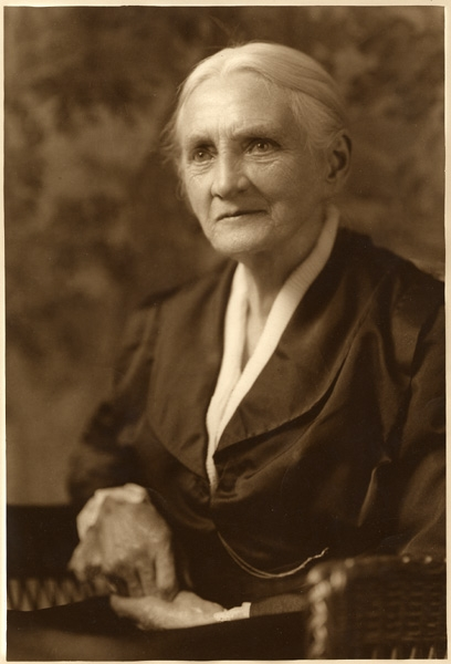 Professor Maria Louise Sanford, 1918.
