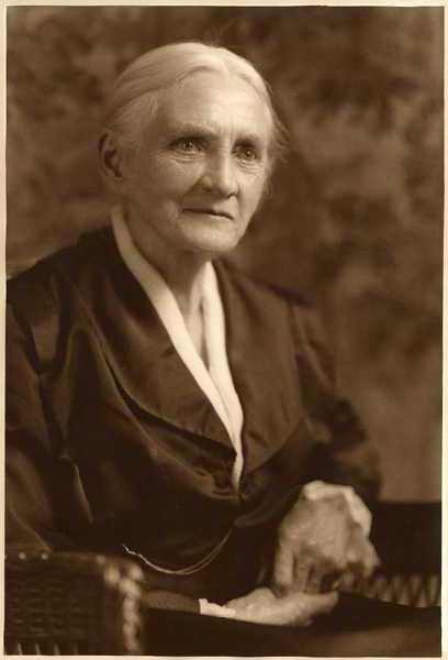 Professor Maria Louise Sanford, 1918.
