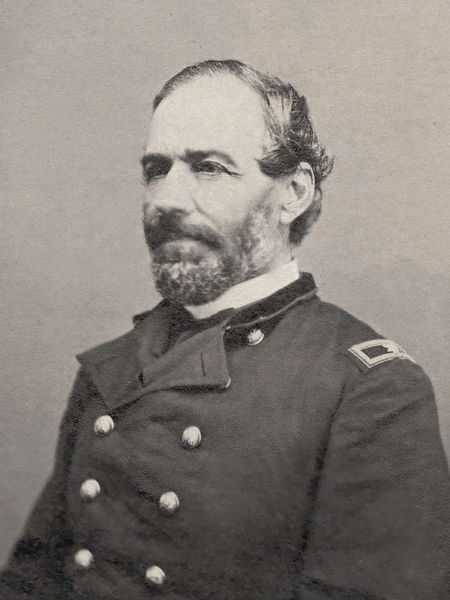 Black and white photograph of Seth Eastman, ca.1860.