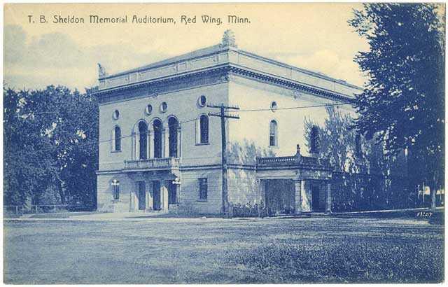 T.B. Sheldon Memorial Auditorium, Red Wing